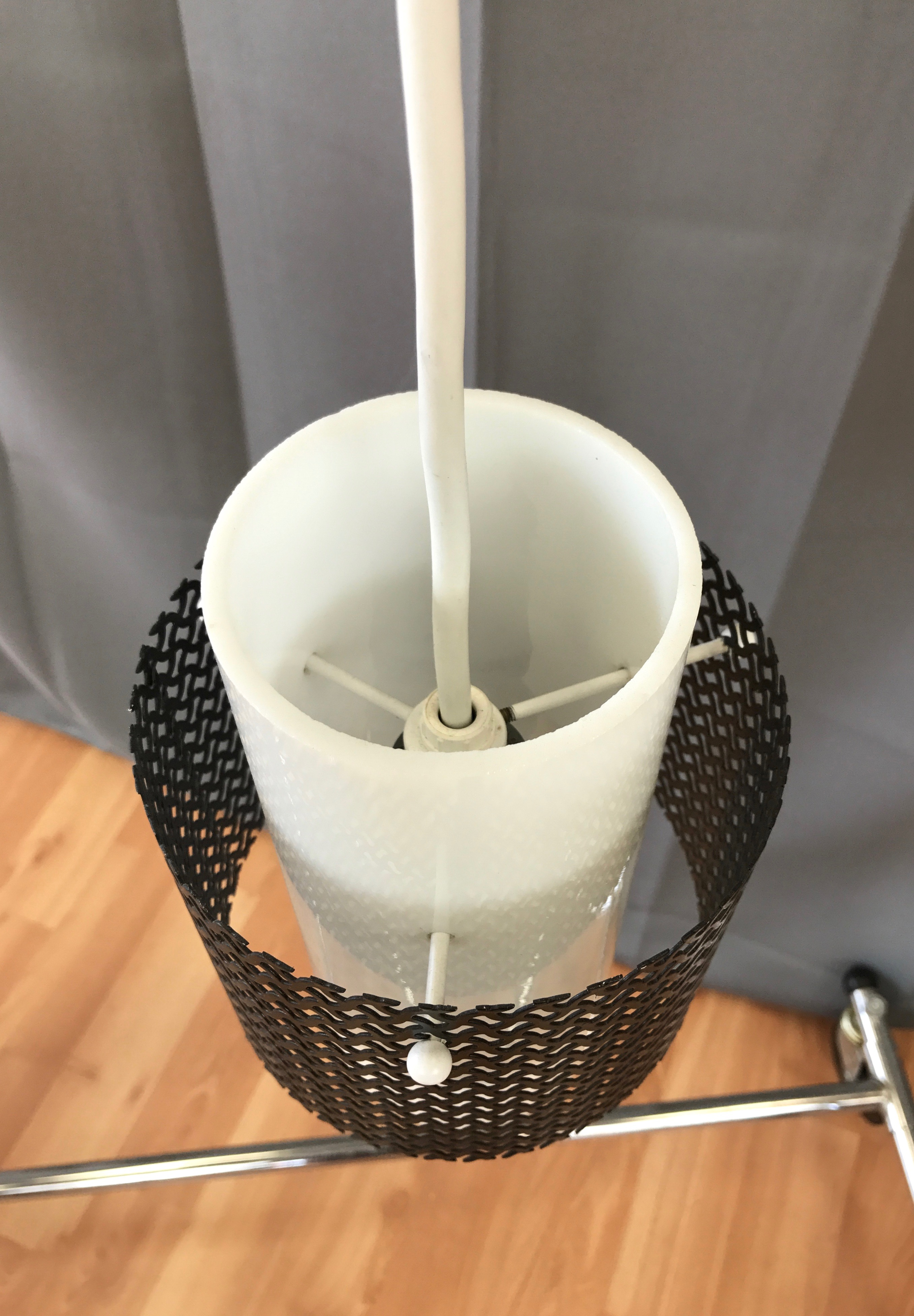 Black Mid Century Table Lamp